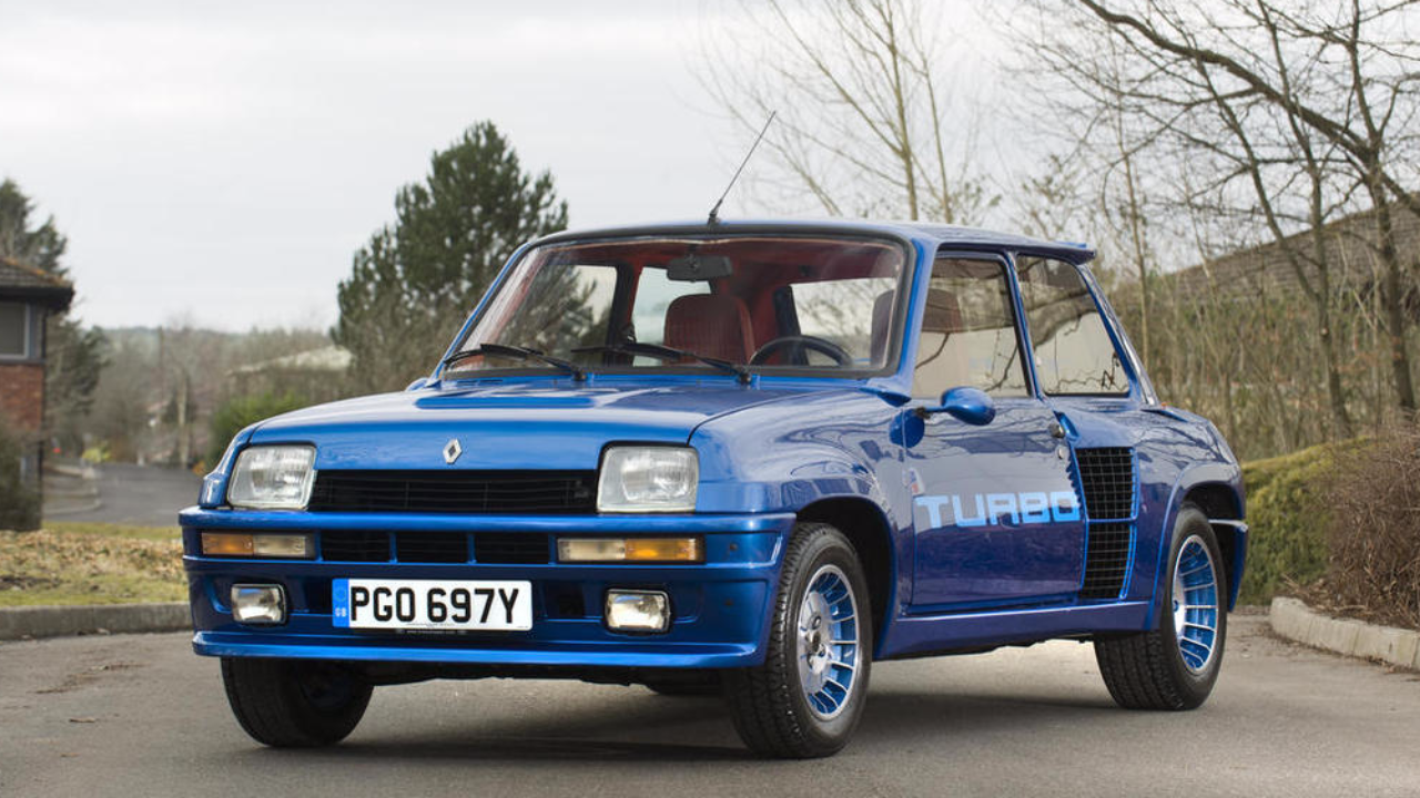 Renault 5 Turbo de 1983
