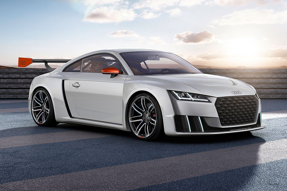 Audi TT clubsport turbo technology concept car