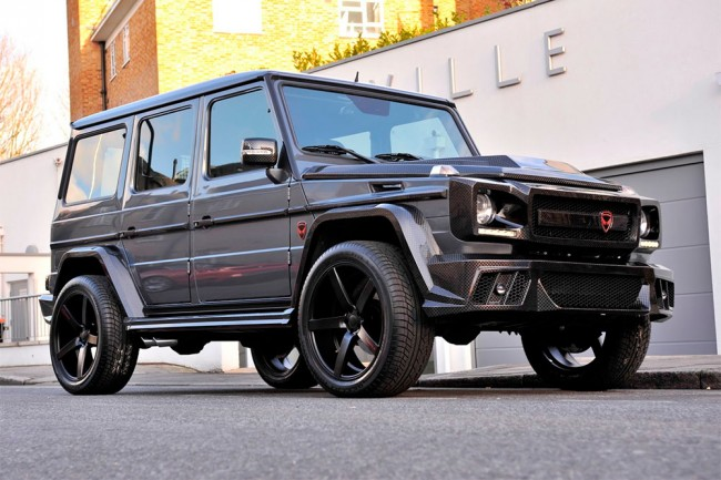 Mercedes Clase G by Prindiville