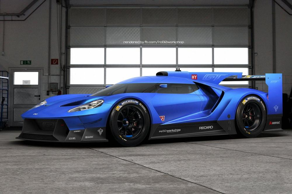 Ford GT 2015 race car (1)