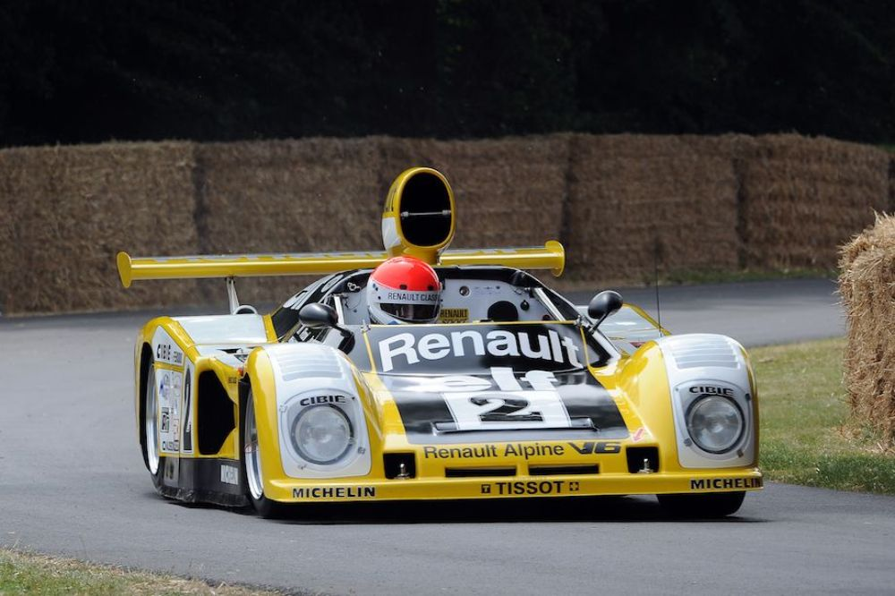 Alpine Renault A442B won Le Mans in 1978