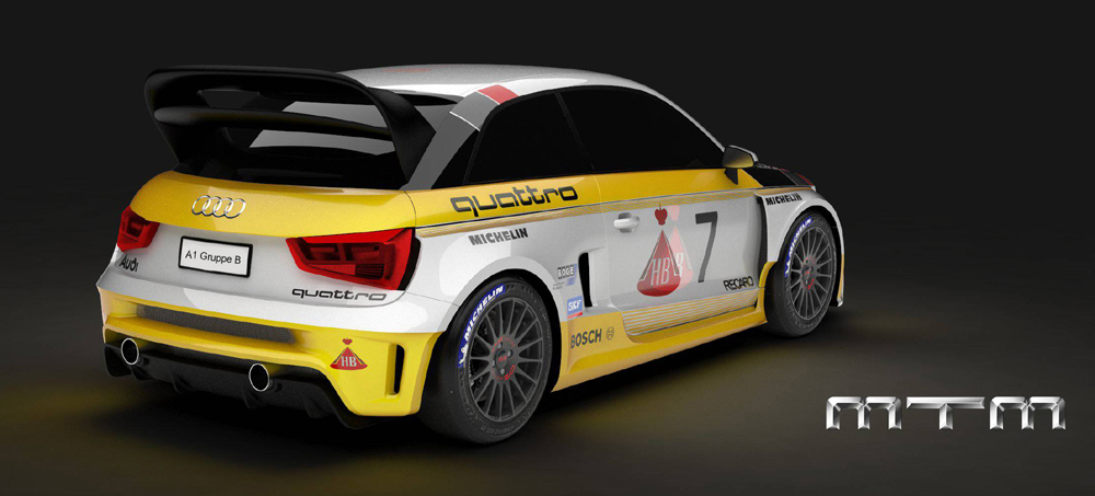 MTM Audi A1 Quattro Group B (3)