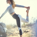 Bar Refaeli - Israeli supermodel, yogi and Buick ?24 Hours of Happiness Test Drive? yoga model