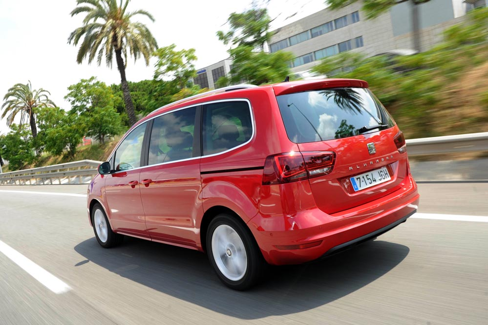 prueba seat alhambra 2015 periodismo del motor. Black Bedroom Furniture Sets. Home Design Ideas