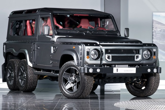 Land Rover Defender 6x6 (1)