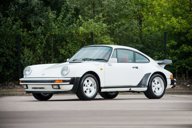 Porsche 911 Supersport de 1986 (1)