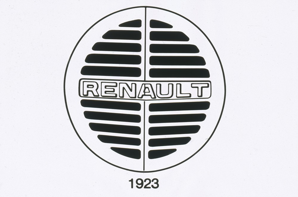 la historia del logotipo de renault periodismo del motor. Black Bedroom Furniture Sets. Home Design Ideas
