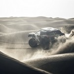 Carlos Sainz performs during the Peugeot test in Erfoud, Morocco, on September 14th, 2015 // Flavien Duhamel/Red Bull Content Pool // P-20150921-00464 // Usage for editorial use only // Please go to www.redbullcontentpool.com for further information. //