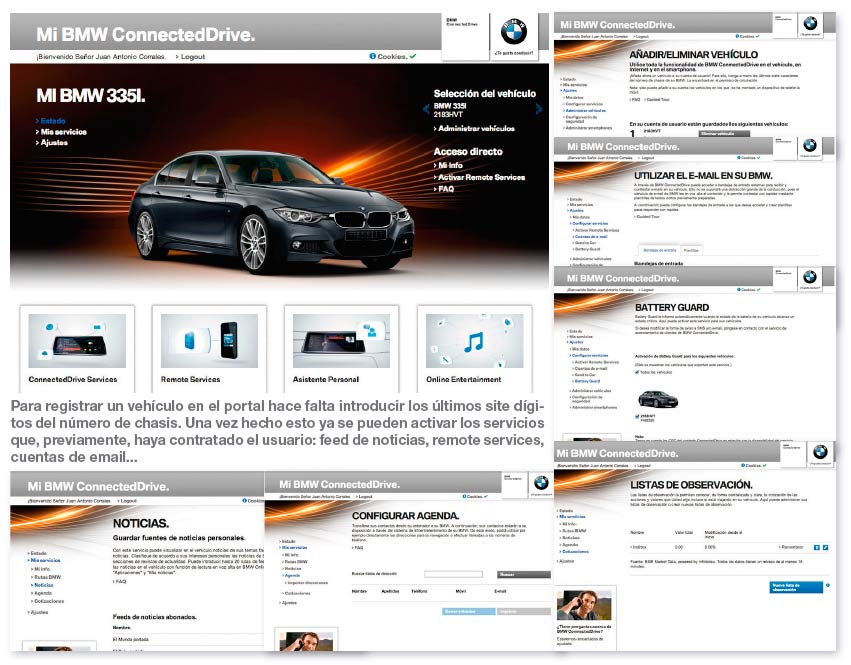 BMW ConnectedDrive prueba