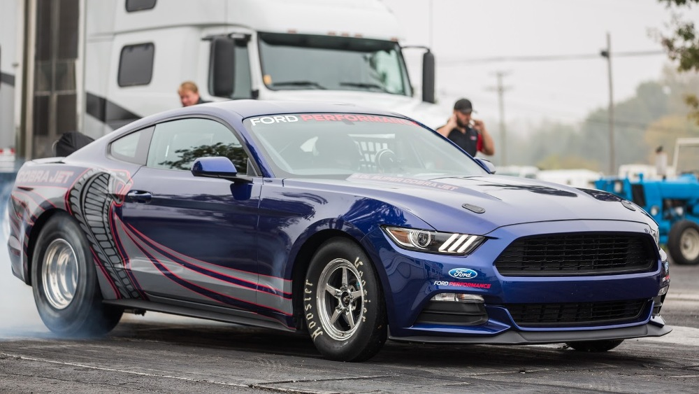 historia ford mustang - Ford Mustang Cobra Jet 2016 (1)