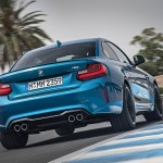 BMW M2 Coupé, ¡en movimiento!