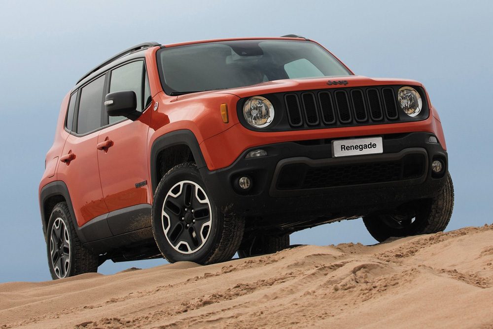 7. Jeep Renegade