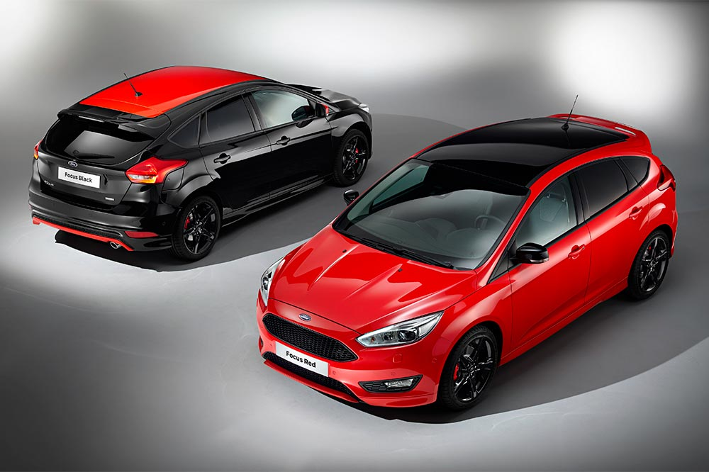 Ford Focus Red Edition y Black Edition