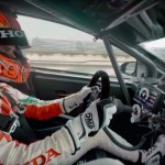 Vídeo 360º: carrera entre Honda RC213V de MotoGP, Civic Type R y Civic WTCC