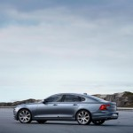 Rear Quarter Profile Volvo S90 Mussel Blue