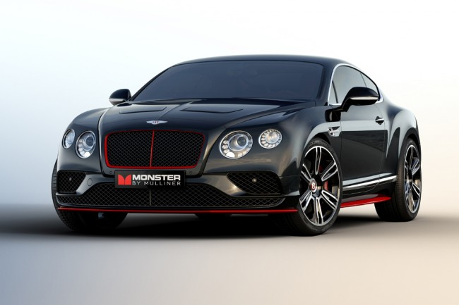 Bentley Continental GT Monster by Mulliner  (1)