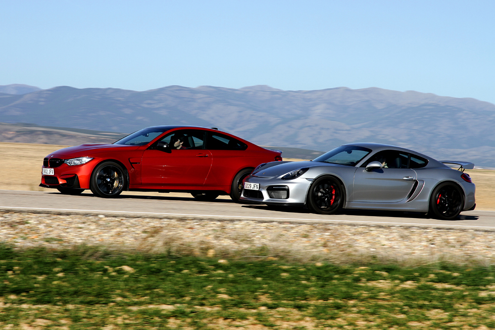 Comparativa BMW M4 M Performance Porsche Cayman GT4 (15)