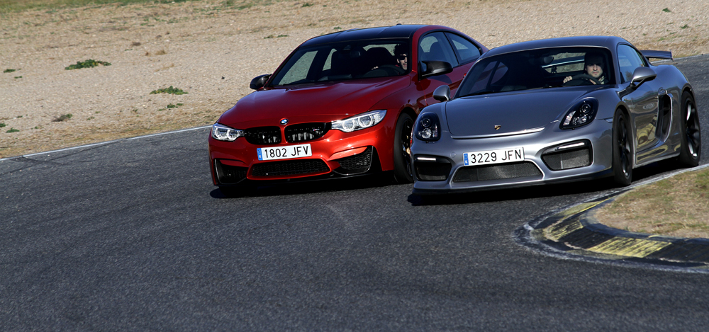 Comparativa BMW M4 M Performance Porsche Cayman GT4 (2)