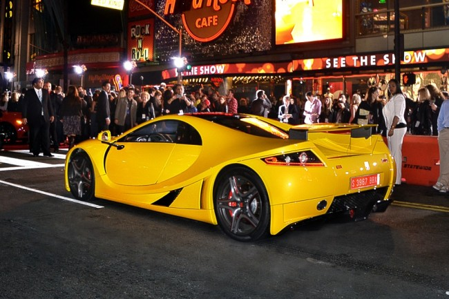 GTA Spano Hollywood