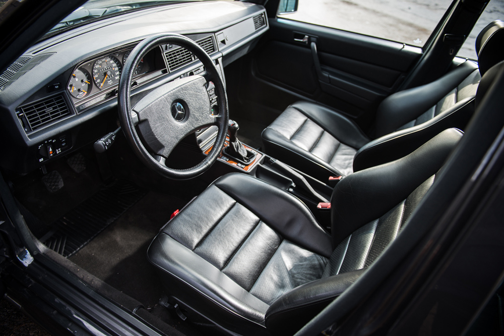 subasta Mercedes 190 E 2.5-16 Evolution II interior