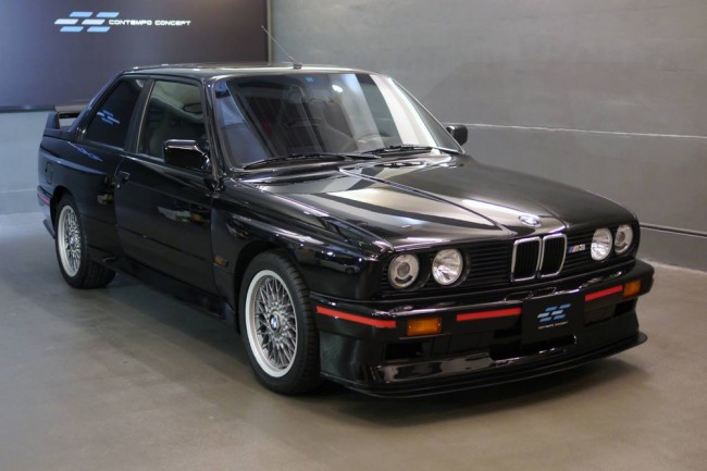 a la venta un bmw m3 e30 sport evolution periodismo del motor. Black Bedroom Furniture Sets. Home Design Ideas