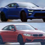 Vídeo: Chevrolet Camaro SS 2016 vs BMW M4 Coupé