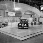 "Debut of the BMW 501 ""Barockengel"" at the Frankfurt Motorshow 1951 (11/2010)."