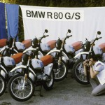 Press präsentation of the BMW R 80 G/S  in Avignon, 1980 (03/2010)