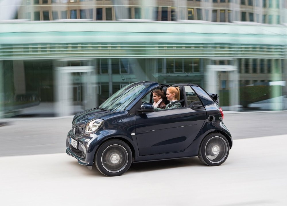 brabus smart fortwo fortwo cabrio y forfour 2016 en. Black Bedroom Furniture Sets. Home Design Ideas