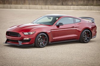 2017 Ford Shelby GT350R in Ruby Red Metallic