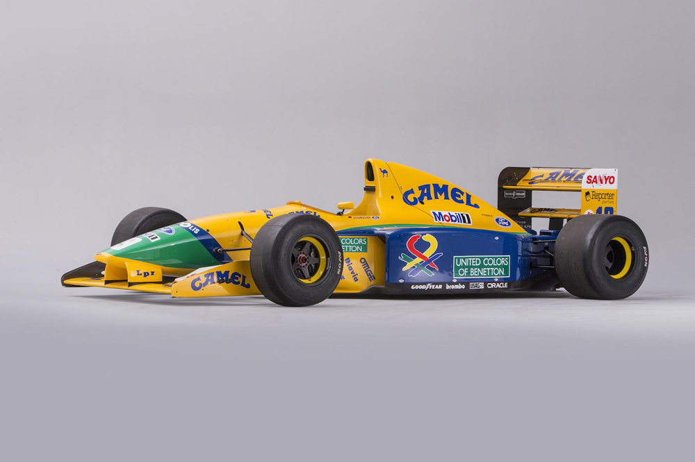 subasta Benetton B191 Michael Schumacher (2)