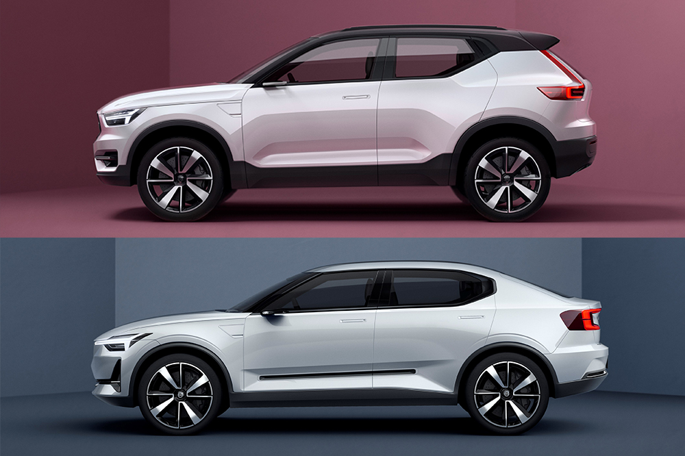 volvo xc40 y volvo s40 concept h bridos el ctricos y compactos periodismo del motor. Black Bedroom Furniture Sets. Home Design Ideas