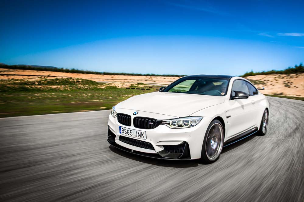 BMW M4 CS dinámica