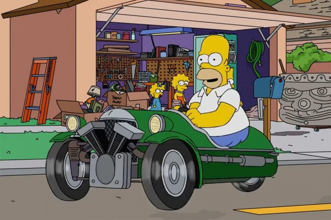 jay-leno-compra-morgan-3-wheeler-homer-simpson