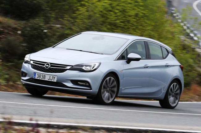 Prueba Opel Astra 2016