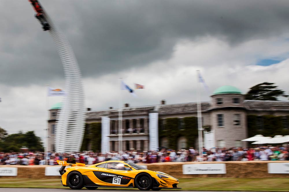 McLaren Goodwood Festival of Speed 2016
