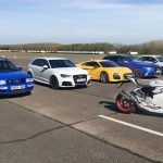 Guerra civil en Audi: RS2 vs S1 vs RS3 vs RS6 vs R8