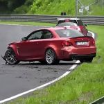 Vídeo: accidente de un BMW Serie 1 M en Nürburgring