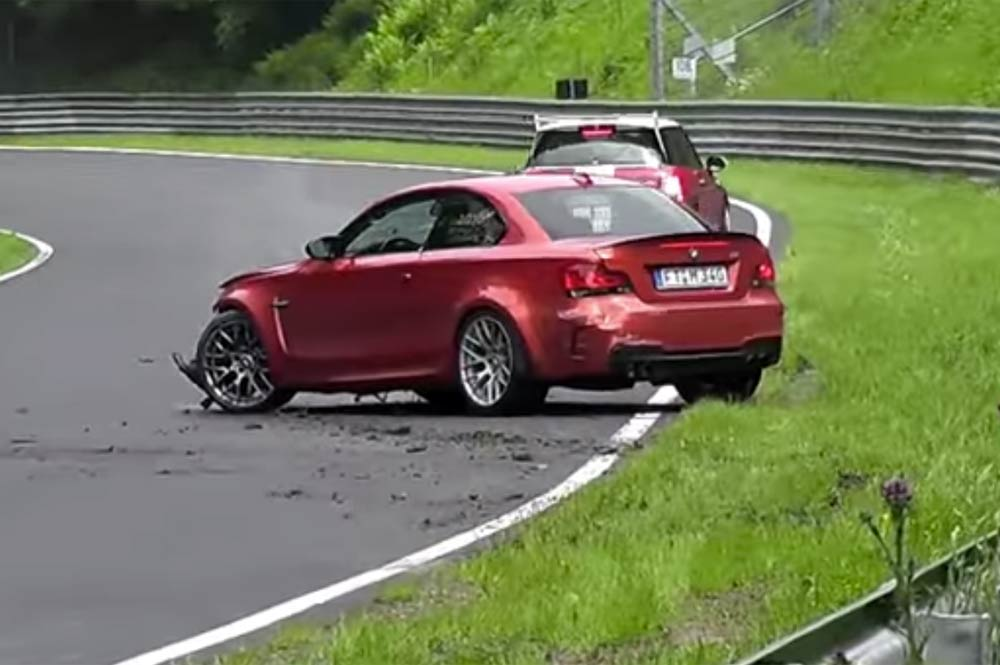 Accidente BMW Serie 1 M Nürburgring