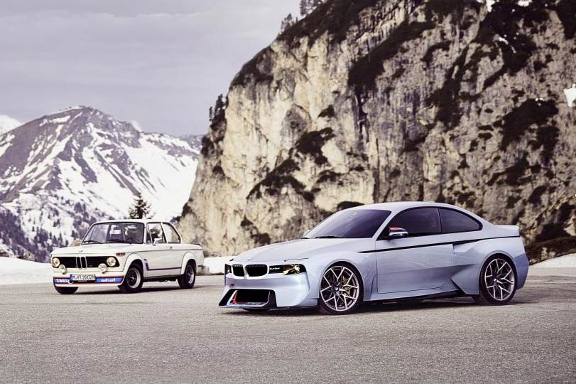 BMW 2002 Hommage vs BMW 2002 Turbo