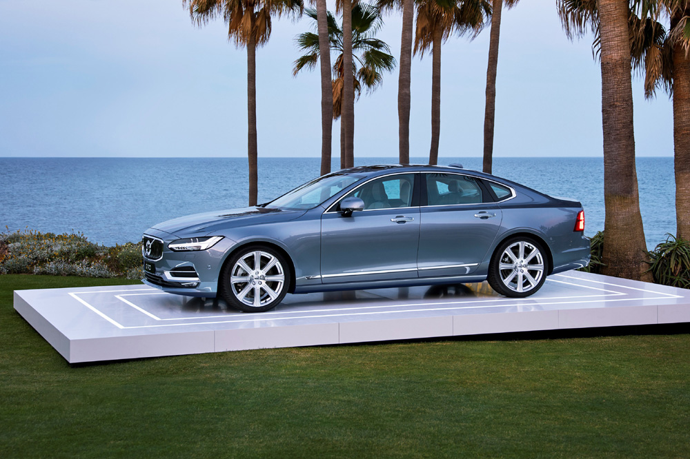 New Volvo S90 location