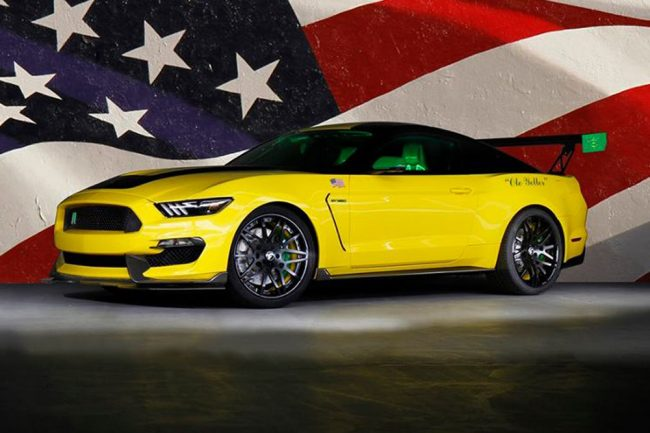 """Shelby GT350 Mustang  """"Ole Yeller"""" (1)"""