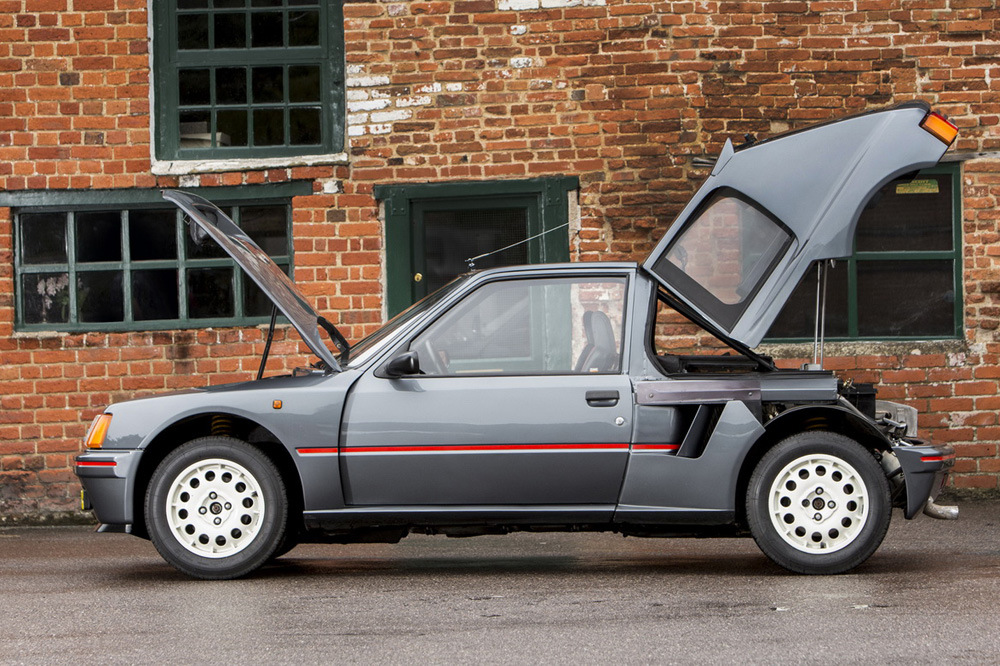 peugeot 205 turbo 16 4 periodismo del motor. Black Bedroom Furniture Sets. Home Design Ideas