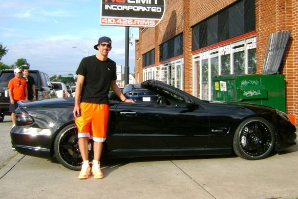coches de Michael Phelps Mercedes SL63 AMG No Limit