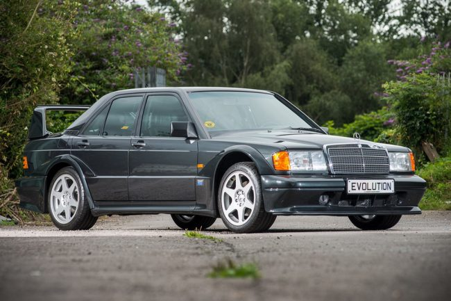 subastan Mercedes 190 E 2.5-16 Evolution II (1)