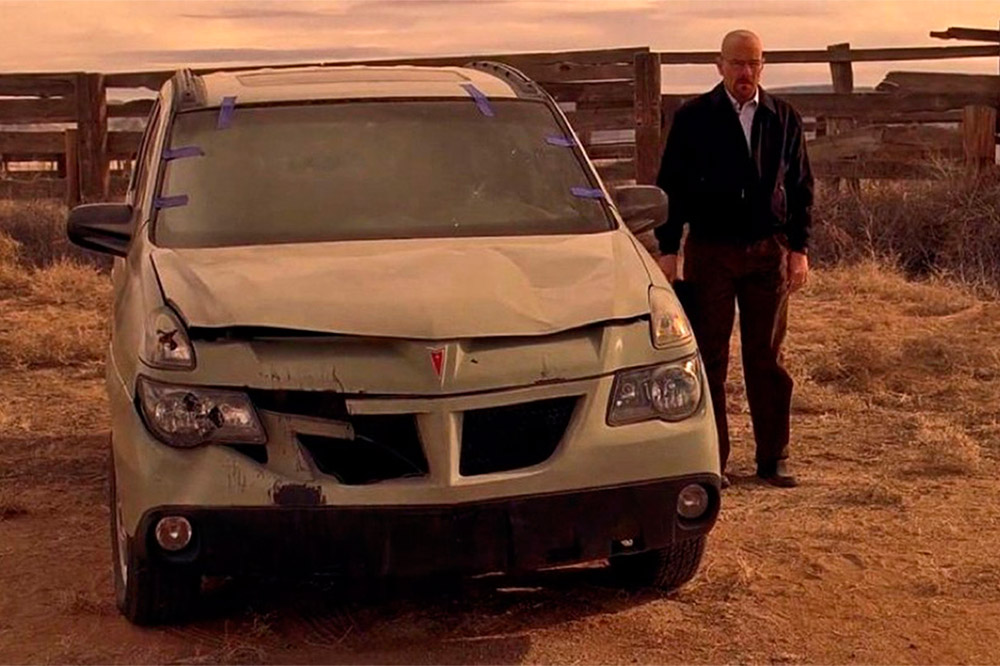 Pontiac Aztek Breaking Bad