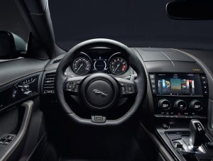Interior del Jaguar F-Type 400 Sport Launch Edition