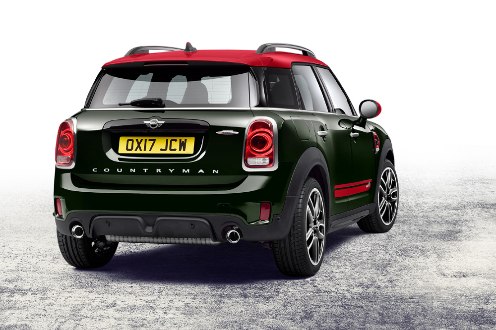 mini john cooper works countryman 2017 2 periodismo del motor. Black Bedroom Furniture Sets. Home Design Ideas