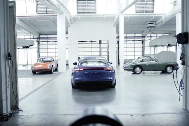 Calendario Porsche 2017 Making of