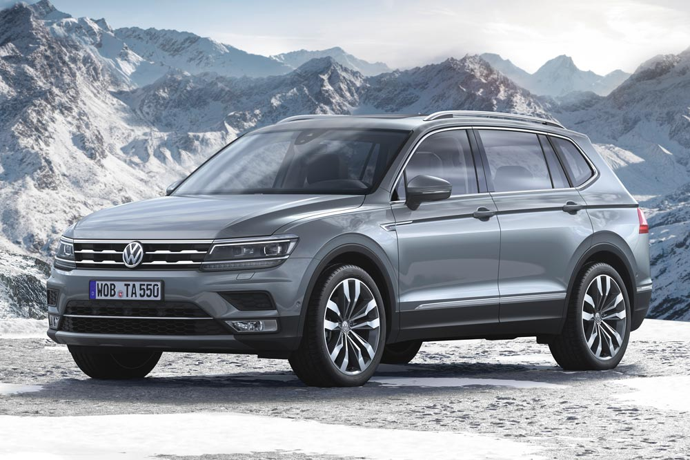 volkswagen tiguan allspace en ginebra la versi n europea periodismo del motor. Black Bedroom Furniture Sets. Home Design Ideas